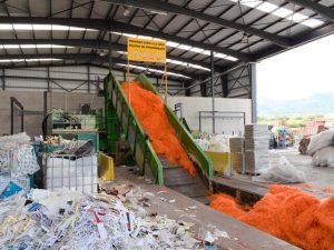 Recogida de papel, cartón y resiudos industriales en la comunidad Valenciana